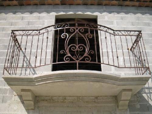 Garde Corps De Balcon Style Provencal Saint Maximim