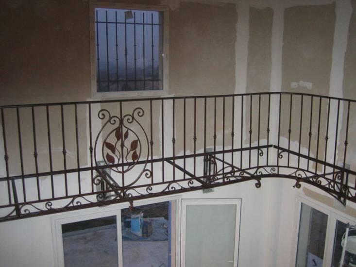 biblioth que et garde corps en fer forg ferronnier var 83 ferronnerie d 39 art la reinette. Black Bedroom Furniture Sets. Home Design Ideas