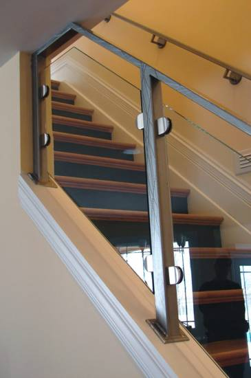Rampe D Escalier Inox Et Verre Sur Mesure Le Pradet Var