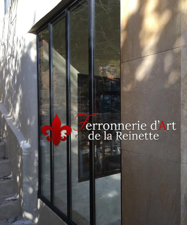 Baie Vitree Fixe Style Atelier D Artiste A Toulon Le Faron