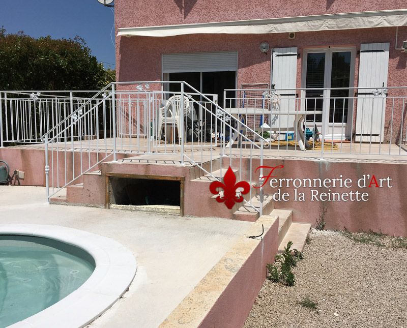 Favori Rambarde garde corps sur mesure pour une terrasse à Toulon  TC29