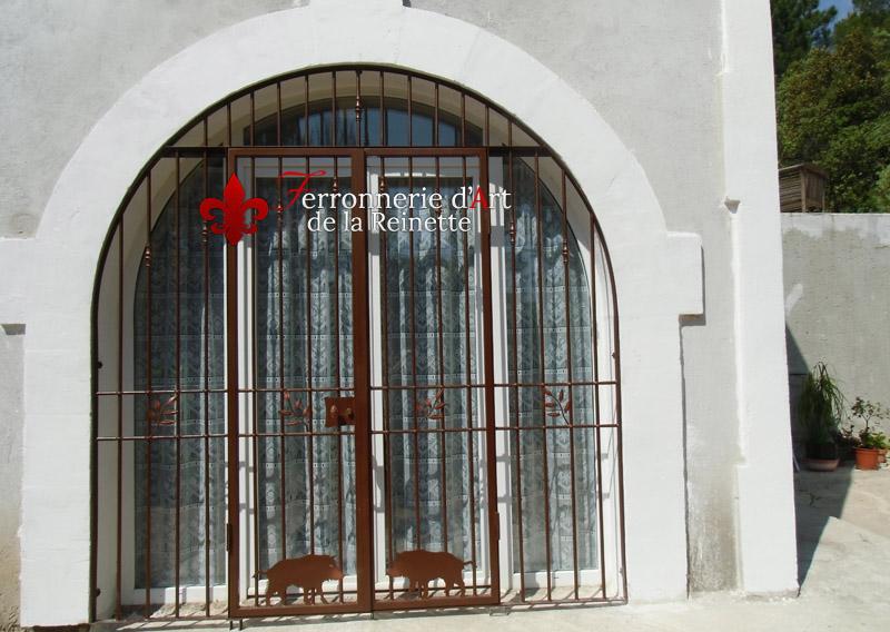 Grille De Sécutité Pour Porte Fenêtres Et Baie Vitrée à Toulon