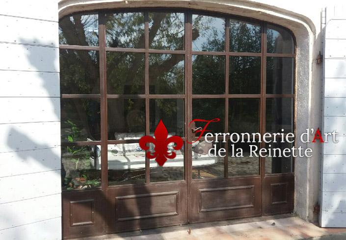 Porte Fenêtre En Fer Forgé à Lancienne à Toulon Var 83