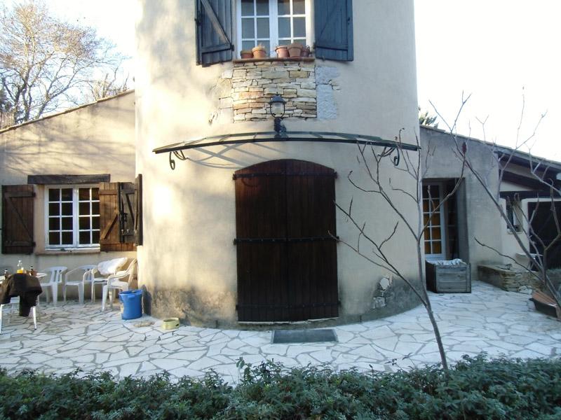 marquise de chateau en fer forg et verre stadip saint. Black Bedroom Furniture Sets. Home Design Ideas