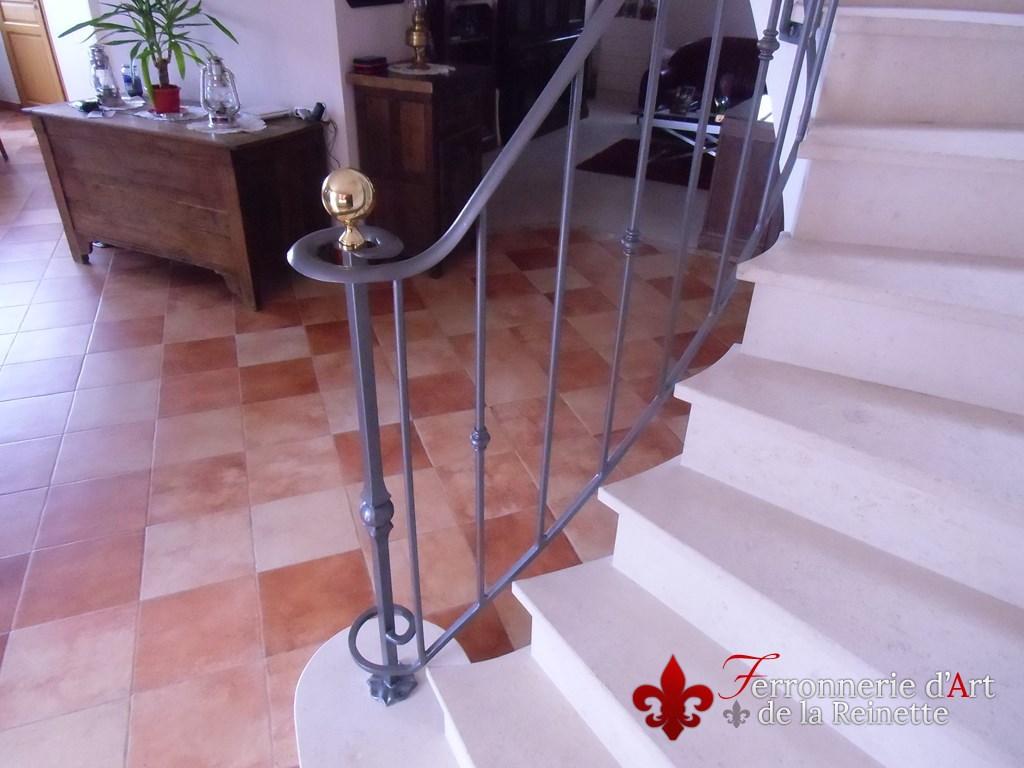 ferronnerie rampe rambarde escalier et garde corps fer forge aix en provence ferronnerie d 39 art. Black Bedroom Furniture Sets. Home Design Ideas