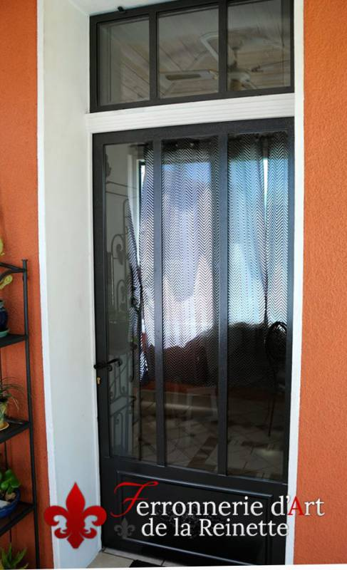 Populaire Réalisation de porte d'entrée sur-mesure Brignoles - Ferronnerie d  NS13