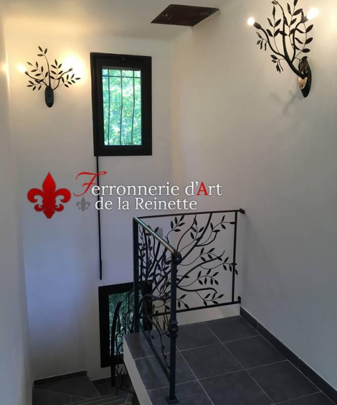 Decoration fer forge interieur stunning lustre fer forg for Decoration fer forge interieur